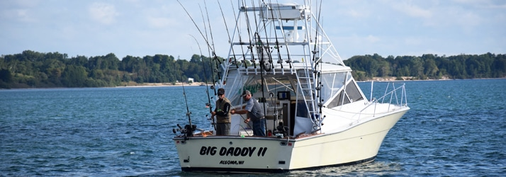best fishing guide algoma wi