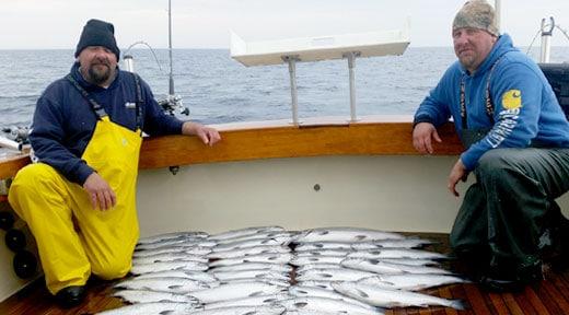 Big Daddy Charters LLC algoma wi fishing guide bryan wiesner